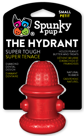 Spunky Pup 100% Natural Rubber Hydrant