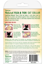 Tropiclean Natural Flea And Tick Collar For Cats