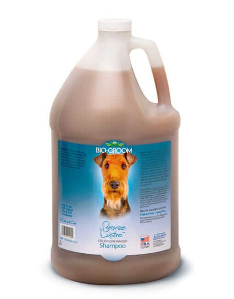 Bio-Groom Gallon Bronze Lutre Colour Enhancing Shampoo (3.8 ltrs)