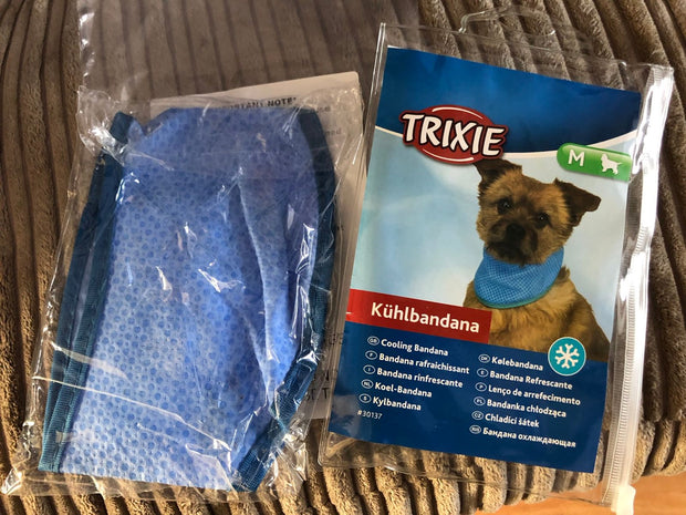 Trixie Cooling Bandana For Dogs- Blue