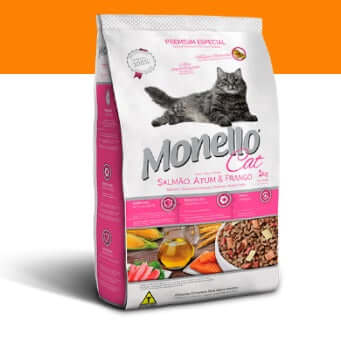 Monello Salmon, Tuna & Chicken Cat Food