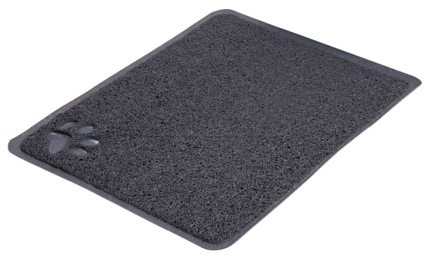 Trixie Cat Litter Tray Mat – Dark Grey