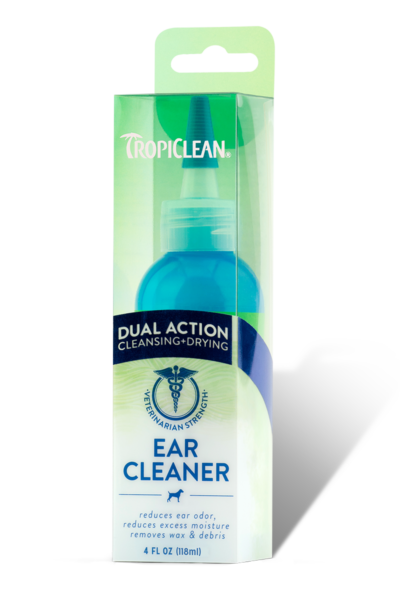 Tropiclean Dual Action Ear Cleaner For Pets (118ml)