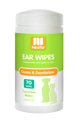 Nootie Ear Wipes– Cucumber Melon (70 Wipes)