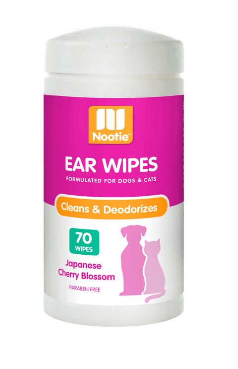 Nootie Ear Wipes– Japanese Cherry Blossom (70 Wipes)