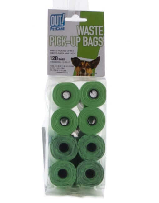 Bramton OUT! Waste Pick-Up Bags (120 Pcs)