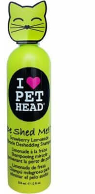 Pet Head Cat Deshedding Shampoo
