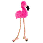 Beco The Flamingo Soft Dog Toy