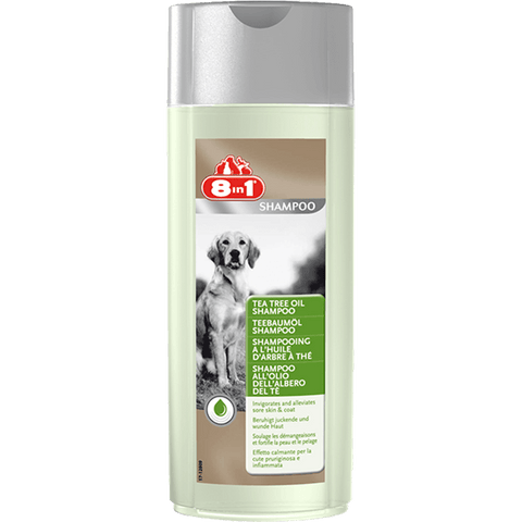 8in1 Tea Tree Oil Shampoo For Dogs (250 ml)