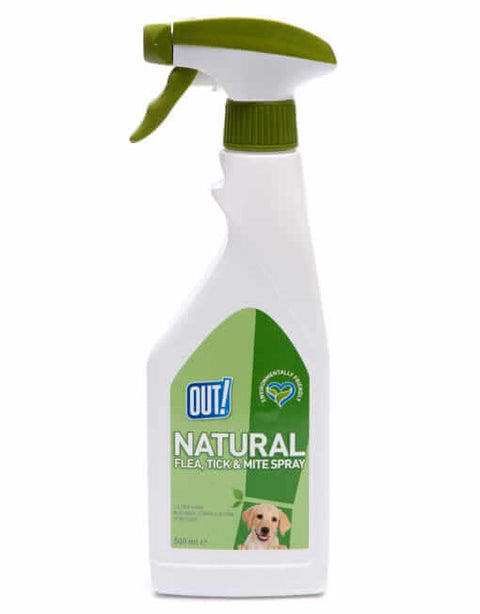 Bramton OUT! Natural Flea And Tick Spray (500 Ml)