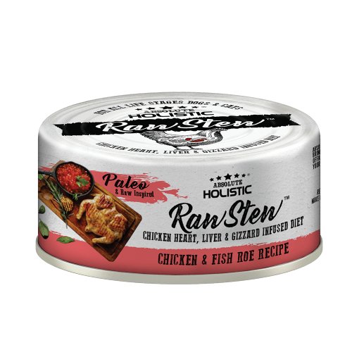 Absolute Holistic RawStew-Chicken & Fish Roe Recipe (80gms)