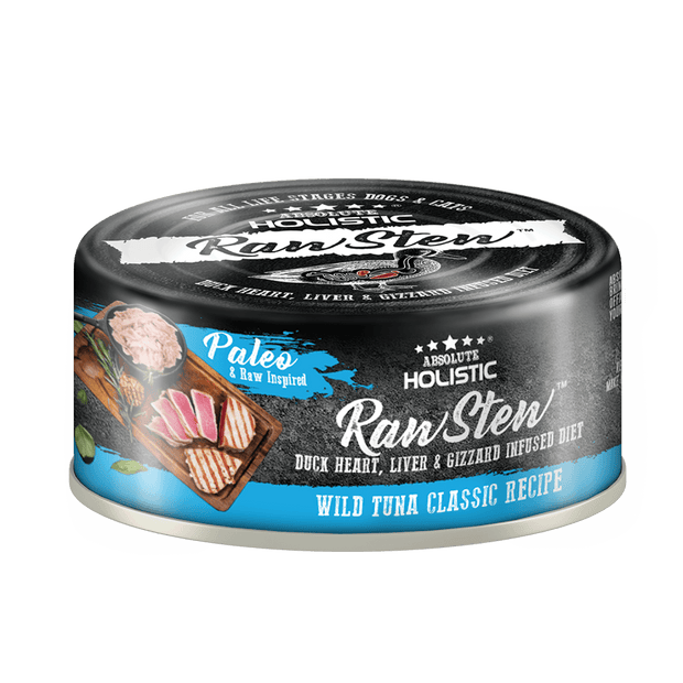 Absolute Holistic RawStew-Wild Tuna Classic Recipe (80gms)