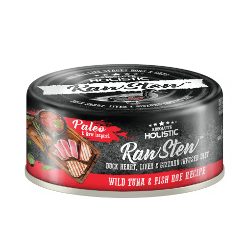 Absolute Holistic RawStew-Wild Tuna & Fish Roe Recipe (80gms)