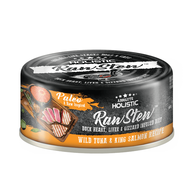 Absolute Holistic RawStew-Wild Tuna & King Salmon Recipe (80gms)