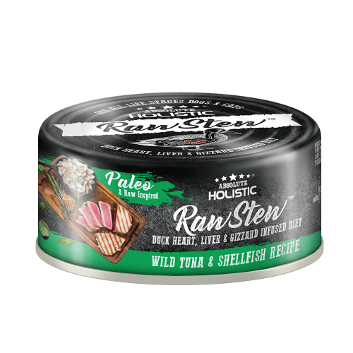 Absolute Holistic RawStew-Wild Tuna & Shellfish Recipe (80gms)