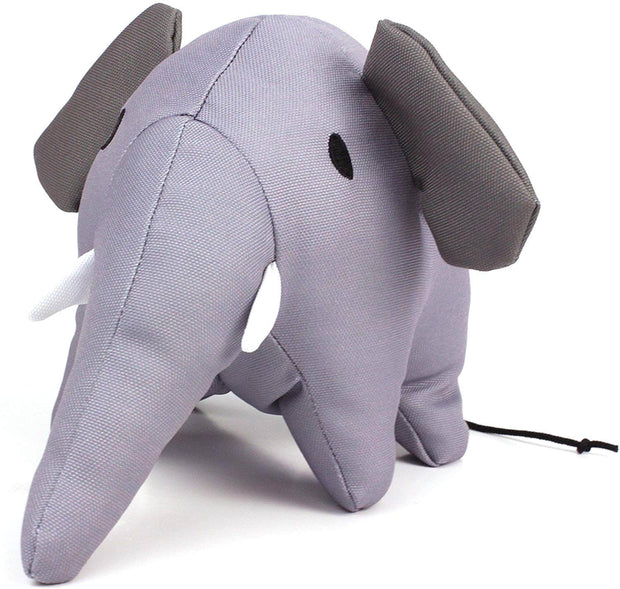Beco Pets Recycled Squeeker Plush / Soft Toy For Dogs – Estella The Elephant
