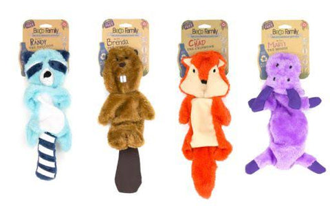 Beco Pets Recycled Stuffing Free Toy For Dogs – Chipmunk