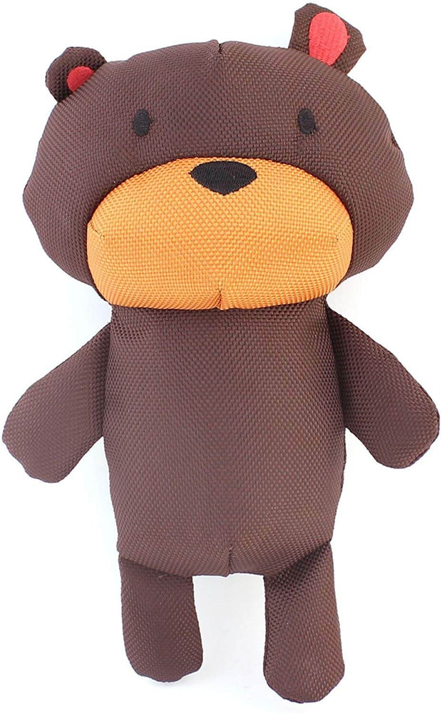 Beco Pets Recycled Squeeker Plush / Soft Toy For Dogs – Toby The Teddy