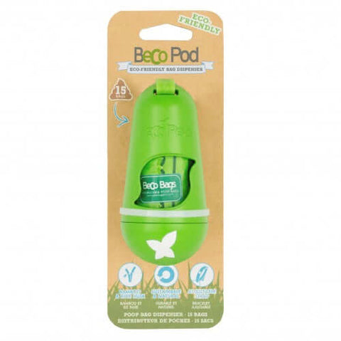 Beco Pets Recycled Bamboo Pod Poop Bag Dispenser