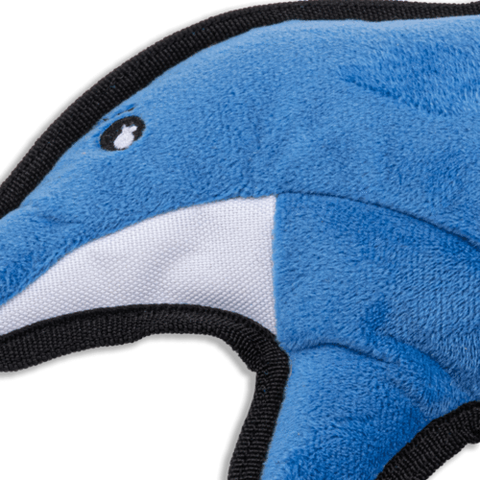 Recycled Rough & Tough Dolphin Toys For Dogs
