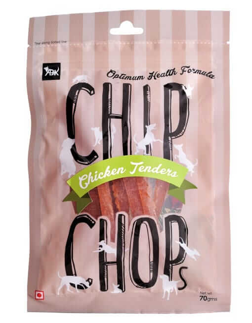 Chip Chops Dog Treats- Chicken Tenders (70 gms)