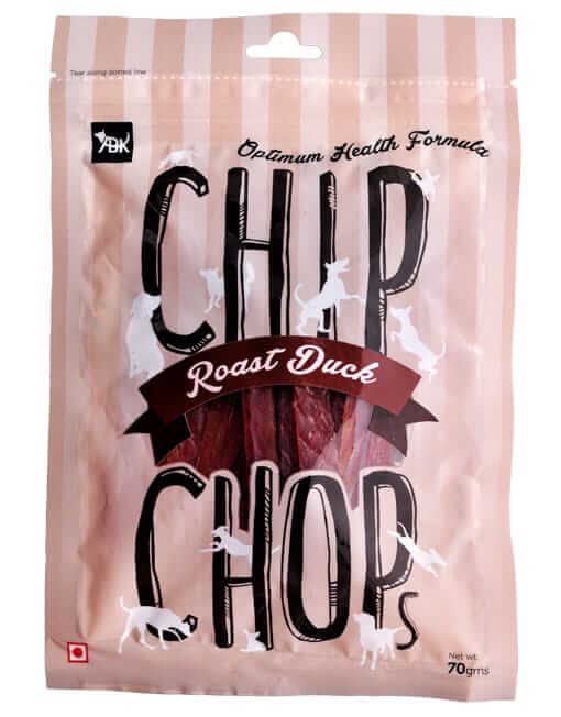 Chip Chops Dog Treats- Roast Duck Slice (70 gms)