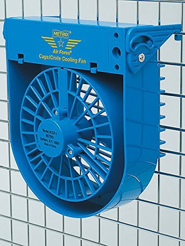 MetroVac Airforce Cage/Crate Cooling Fan For Pets