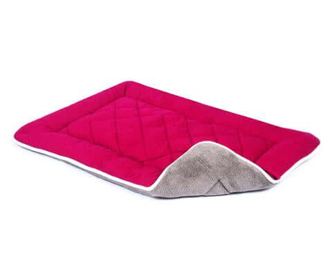 Dogs Gone Smart Multi-Purpose Bed Sleeper Cushion / Crate Pad – Cranberry