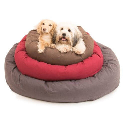 Dogs Gone Smart Donut Bed – Pebble Grey