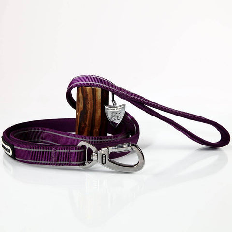 Dogness Neoprene Classic Leash- Purple