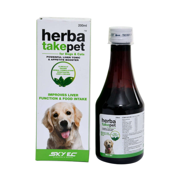 Herbatakepet 200ml for dogs