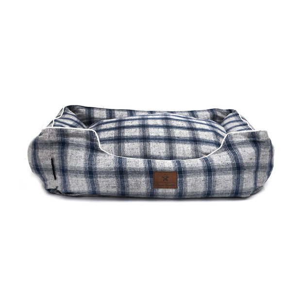 Checks Lounger Bed For Dogs