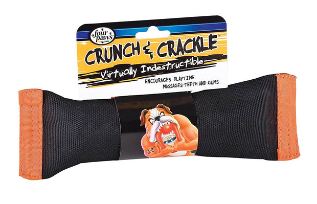 Four Paws Crunch & Crackle Dog Toy