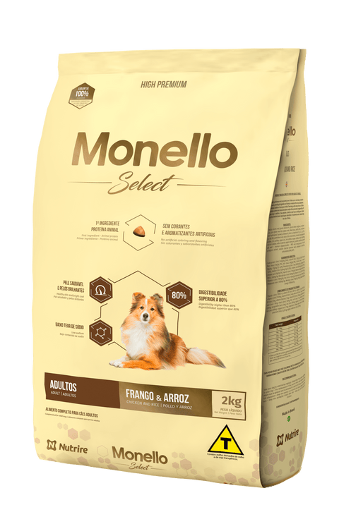 Monello Select Adult Dog Food.