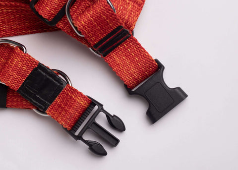 CQ Melange Red Harness For Dogs