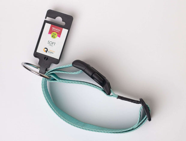 CQ Soft Sky Blue Collar For Dogs