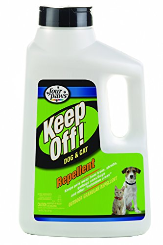 Four Paws Keep Off! Outdoor Granular Repellent Dogs & Cats