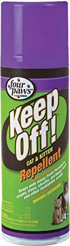 Four Paws Keep Off! Indoor & Outdoor Repellent For Cats & Kittens
