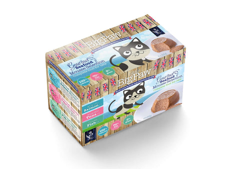 Gourmet Seafood Mousse Selection 6x85g x 6