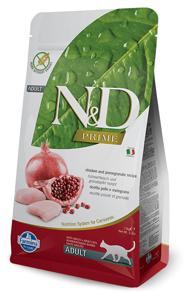 N&D Prime Grain Free Chicken & Pomegranate Adult Cat Food (All Breeds)