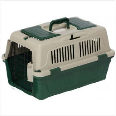 Nutra Pet Dog & Cat Carrier Box Closed Top- GREEN