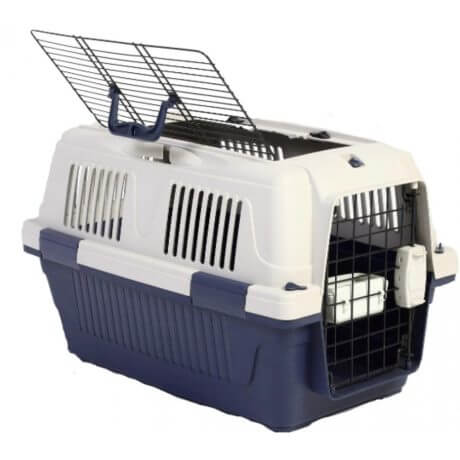 Nutra Pet Dog & Cat Carrier Box Open Top- BLUE