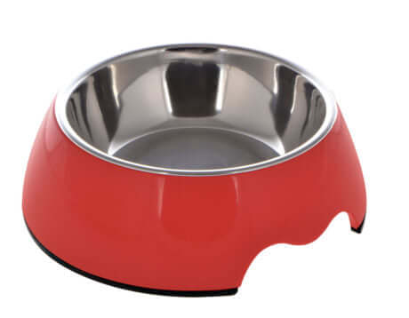 Nutra Pet Melamine Round Feeder Bowl- RED (X-Large / 1400 Ml)