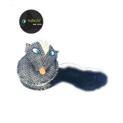 Nutra Pet Skunk Spiral Dog Toy
