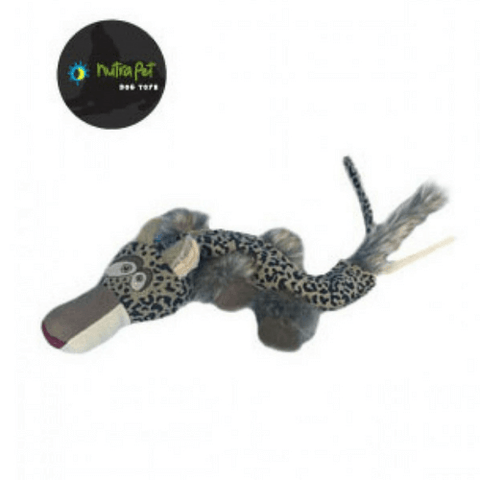 Nutra Pet Leopard Long Dog Toy