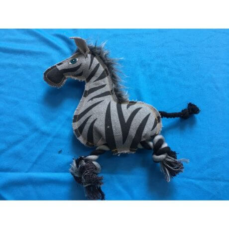 Nutra Pet ZEBRA Dog Toy