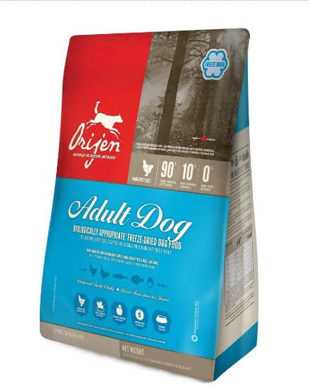 Orijen Adult Dog| Freeze Dried Dog Food (454 gms)