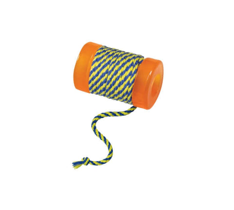 PetStages OrkaKat Catnip Infused Spool With String Cat Toy
