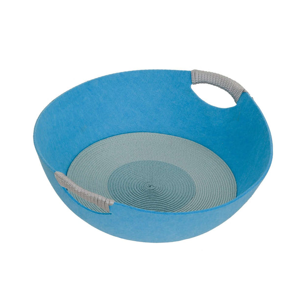 Pets Empire Felt Nest / Sleeping Basket For Cats – Blue