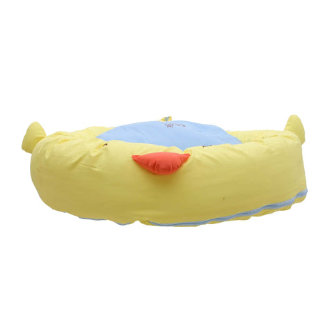 Pets Empire Round Bed For Dogs And Cats – Lemon Yellow